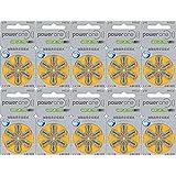 パワーワン 補聴器用 空気電池 PR536(10A) 6粒入り×10シートセット