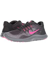 [NIKE(ナイキ)] レディーステニスシューズ?スニーカー?靴 Flex RN 2018 Anthracite/Hyper Pink/Wolf Grey 5.5 (22.5cm) B - Medium