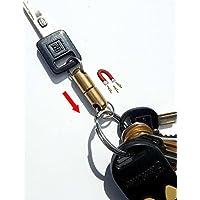 The Original Quick Release Detachable Keychain Magnet | Brass Encased