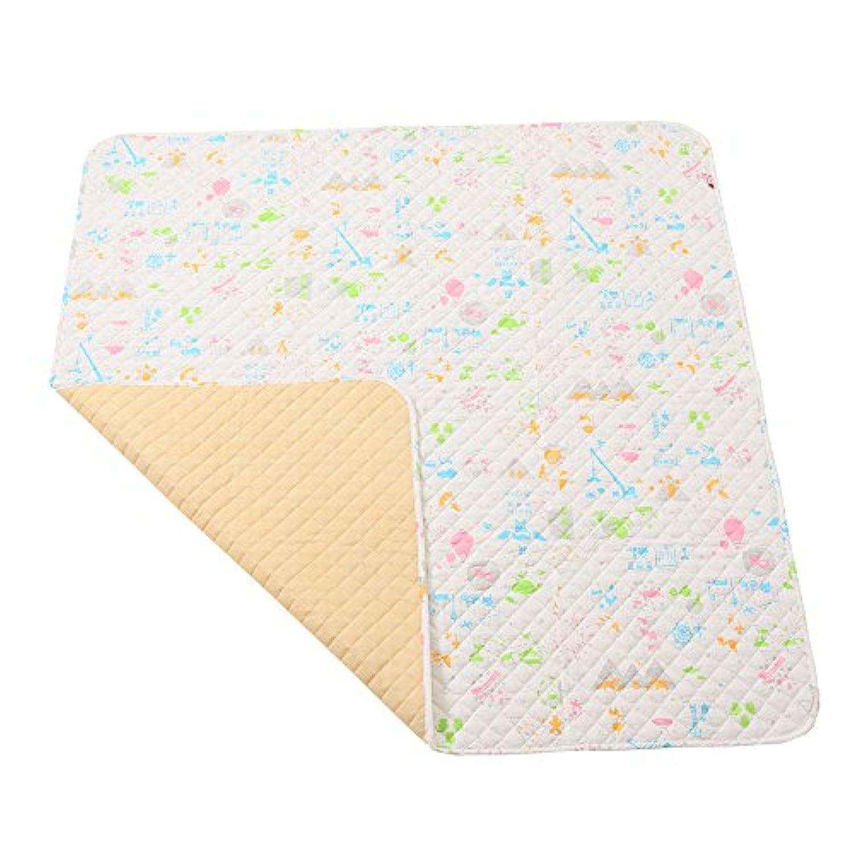 baby.e-sleep(ベビーイースリープ)×baby toi(ベビートーイ) baby book fu fu colorful プレイマット(L) 150×150cm