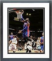 "Andre Drummond Detroit Pistons NBA写真(サイズ: 22.5"" X 26.5CM )フレーム"