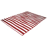Stansport Tatami Straw Ground Mat Red [並行輸入品]