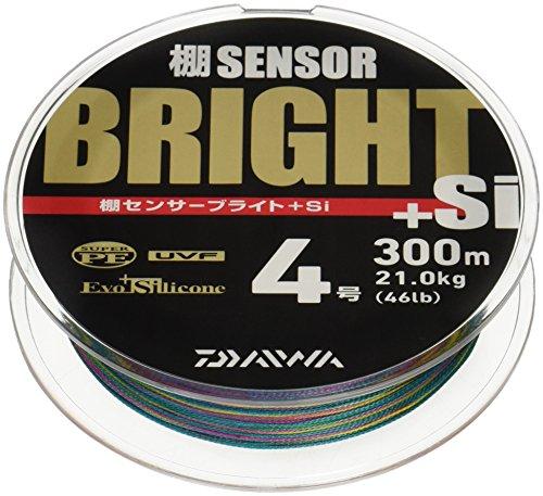 ダイワ(Daiwa) PEライン 棚センサーブライト+Si 300m 4.0号 46lb マルチカラー
