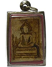 BuddhaジュエリーAmulets Lp Boon Lord Buddha三昧( Maditation )ラッキーペンダントWhealth and Healthy Life