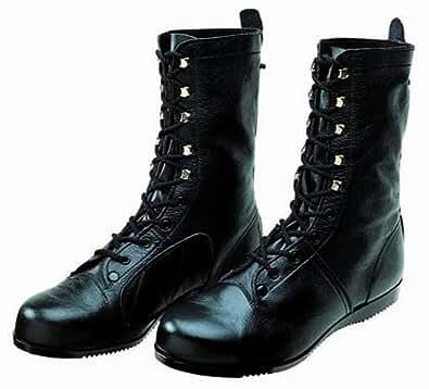 [ドンケル] 安全靴 高所 構内用 長編上靴 出初め JIS T8101 革製L種合格(C式) デゾメ