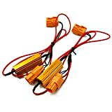 ホンダ 汎用 ハイフラ防止 抵抗器 2個セット 簡単取付け カプラーオン ウインカーリレー _45353