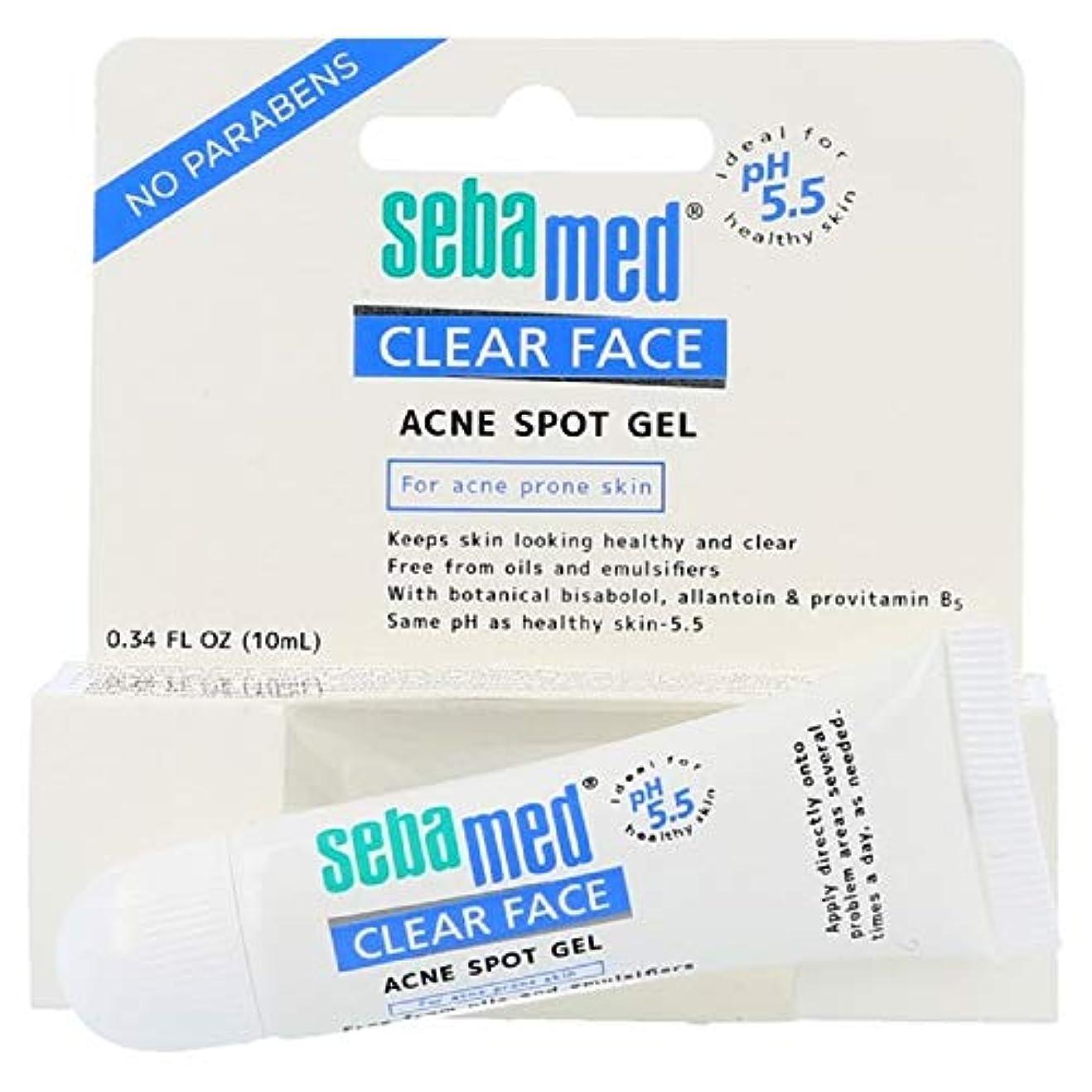輝く病弱効率的SEBAMED 抗面クリア塊ゲル10ミリリットル