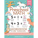 Preschool Math Workbook for Toddlers Ages 2-4