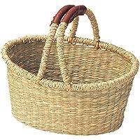 シーグラスバスケット ハンドル23cm 11-15