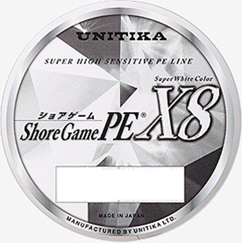 ユニチカ(UNITIKA) PEライン ショアゲームPE X8 150m 0.8号 16kg スーパーホワイト 6202