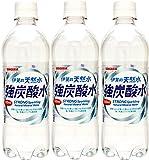 サンガリア 伊賀の天然水 強炭酸水 500ml×3本
