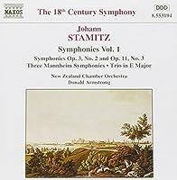 Stamitz - Symphonies, Volume 1 (1995-12-13)