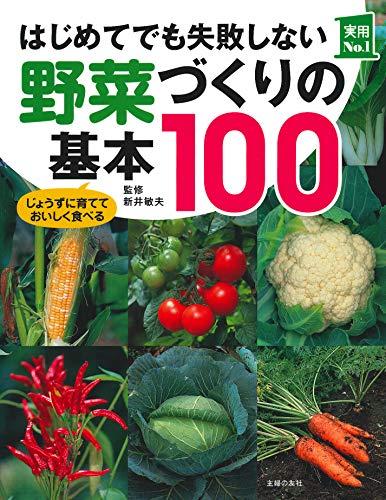 はじめてでも失敗しない野菜づくりの基本100 (実用No.1シリーズ)