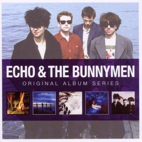 ECHO  THE BUNNYMEN  5CD ORIGINAL ALBUM SERIES BOX SET
