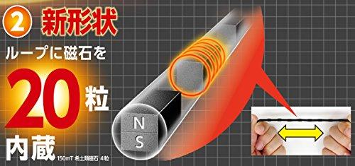 ピップ マグネループ EX 高磁力タイプ ブラック 50cm(PIP MAGNELOOP-EX,black 50cm) ピップ