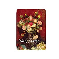 FOR KindleカバーVan Gogh flush series(新しいFOR Kindle paperwhite4用),フラワークラスター