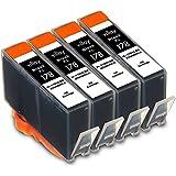 HP178XLBK 【黒4個セット】 互換インクカートリッジ 残量表示対応|対応プリンタ| Deskjet 3070A, 3520, Officejet 4620, Photosmart 5521,Photosmart 5510, 5520, 6510, 6520, B109A,Photosmart Wireless B109N, Wireless B110a, Plus B209A, Plus B210a