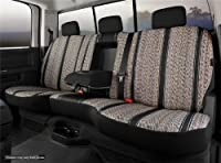 Fia TR42-98 BLACK Custom Fit Rear Seat Cover Split Seat 60/40 - Saddle Blanket (Black) [並行輸入品]