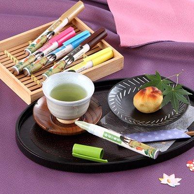 ペン型の携帯粉末容器入りのお茶 好きだっ茶〔静岡一番茶/ルイボス茶/ジャスミン茶/麦茶/ほうじ茶/ウーロン茶〕