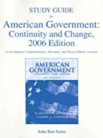 American Government:  Continuity and Change: Study Guide