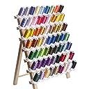 カラー糸 ミシン刺しゅう糸50番 DIY刺しゅう糸 63色/各500m 家庭ミシン刺繍糸