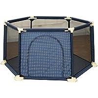 幼児アクティビティセンターの子供のためのアンチロールオーバープレイヤード子供の六角形のプレイペンベイビーの遊びペンドアのアンチコリジョンブルーベビーのパラダイス (サイズ さいず : 150×66.5cm)