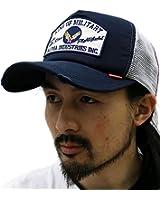 (アルファ インダストリーズ) ALPHA INDUSTRIES INC 3color メンズ キャップ 帽子 2フェイス メッシュ ベースボールキャップ 3color