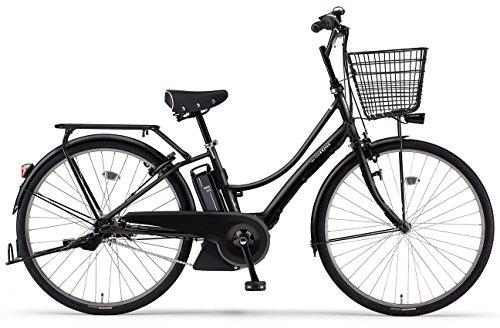 YAMAHA(ヤマハ) 電動アシスト自転車 2017年モデル PAS Ami 26インチ [高容量12.3Ahバッテリー,液晶5ファンクションメーター搭載] PA26CGA7J マットブラック