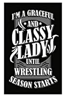 A Graceful and Classy LadyまでWrestling Starts – ポスター