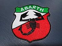 ABARTH アバルト FIAT さそり 蠍 オリジナル アイロン粘着ワッペン エンブレム 品 フィアット アウトビアンキGRN