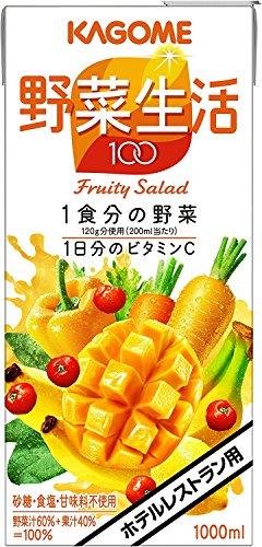カゴメ ホテルレストラン用 野菜生活100 フルーティーサラダ 1L