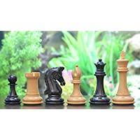 Chessbazaar The Black Jack Series (Sinquefield Cup 2014) Chess Set In Ebony Wood & Box Wood