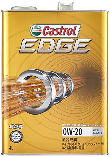カストロール エンジンオイル EDGE 0W-20 4L 4輪ガソリン車専用全合成油 SN/GF-5 Castrol
