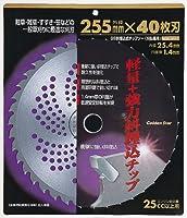 GS斜埋込式チップソー 255mm×40P 210421