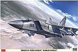 ハセガワ 1/72 ソビエト空軍 ミグ25PD フォックスバット ワールドフォックスバット プラモデル 02221