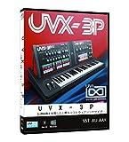 UVI UVX-3P 80年代国産アナログシンセ音源【ダウンロード製品/国内正規品】