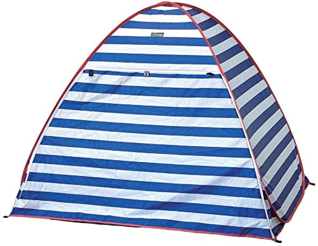 コーン余剰女優SPICE(スパイス) テント ポップアップUVテント ブルーボーダー LSLF1080