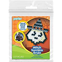 Perler Beads Creepy Witch Activity Kit with Pegboard (225 Count), 80-72940 by Perler