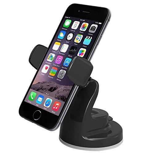 iOttie Easy View 2 Car Mount Holder for iPhone 6 (4.7)/Plus (5.5) /5s/5c, Samsung Galaxy S6/S6 Edge/S5/S4/Note 4/3, LG G4, Google Nexus 5 -Retail Packaging -Black [並行輸入品]