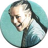 根本正勝(新見錦)/胸上 マット缶バッジ 「舞台『ちるらん 新撰組鎮魂歌』」