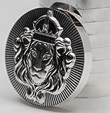 5オンス .999 155.5グラム 純銀 メダル 重ねる 「スタッカー」 バー アメリカ スコッツデール社 インゴット 高純度 .999 銀 ライオン シルバー