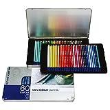 ヴァンゴッホ 色鉛筆 60色 T9773-0065 画像