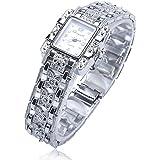 腕時計 ディース ブレス ウォッチ 白い文字盤