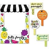 Bigドットの幸せのTutti Fruity – 誕生日パーティーベビーシャワーまたはフルッティ夏フォトブース写真フレーム& Props – 頑丈な素材にプリント