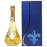 1995 ルイ キャーンズ ルイ15世 ブリュット ド ヴノージュ 箱付 シャンパーニュ 白泡 コク辛口 ワイン((VAVG7195))