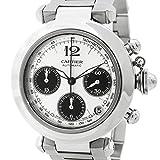 [カルティエ]Cartier 腕時計 パシャCクロノ自動巻き 31048M7 メンズ 中古