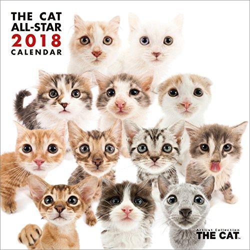 (ミニ)THE CAT ALL-STAR 2018年 カレンダー 壁掛け CL-1154