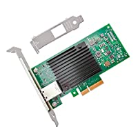 jeirdus 10 gサーバアダプタPCI - E NIC Network card FBM-X550-T1