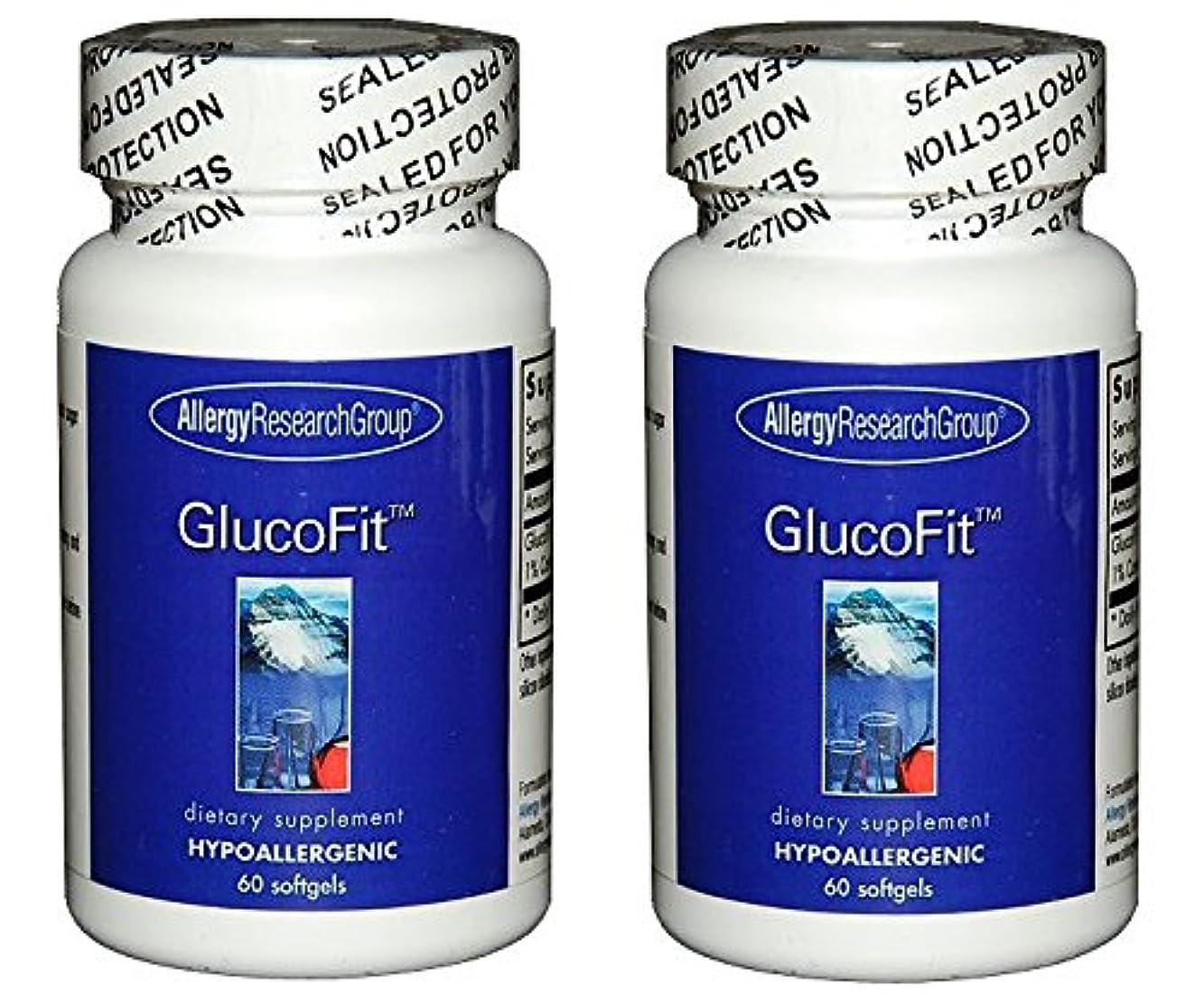 外交官毛細血管敬意を表してグルコフィット(GlucoFit)[海外直送品] 2ボトル