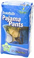 Pure 'n Gentle Youth Pajama Pants for Boys & Girls, 48 Count, Large/X-Large, 60-125 Pounds by Pure 'n Gentle
